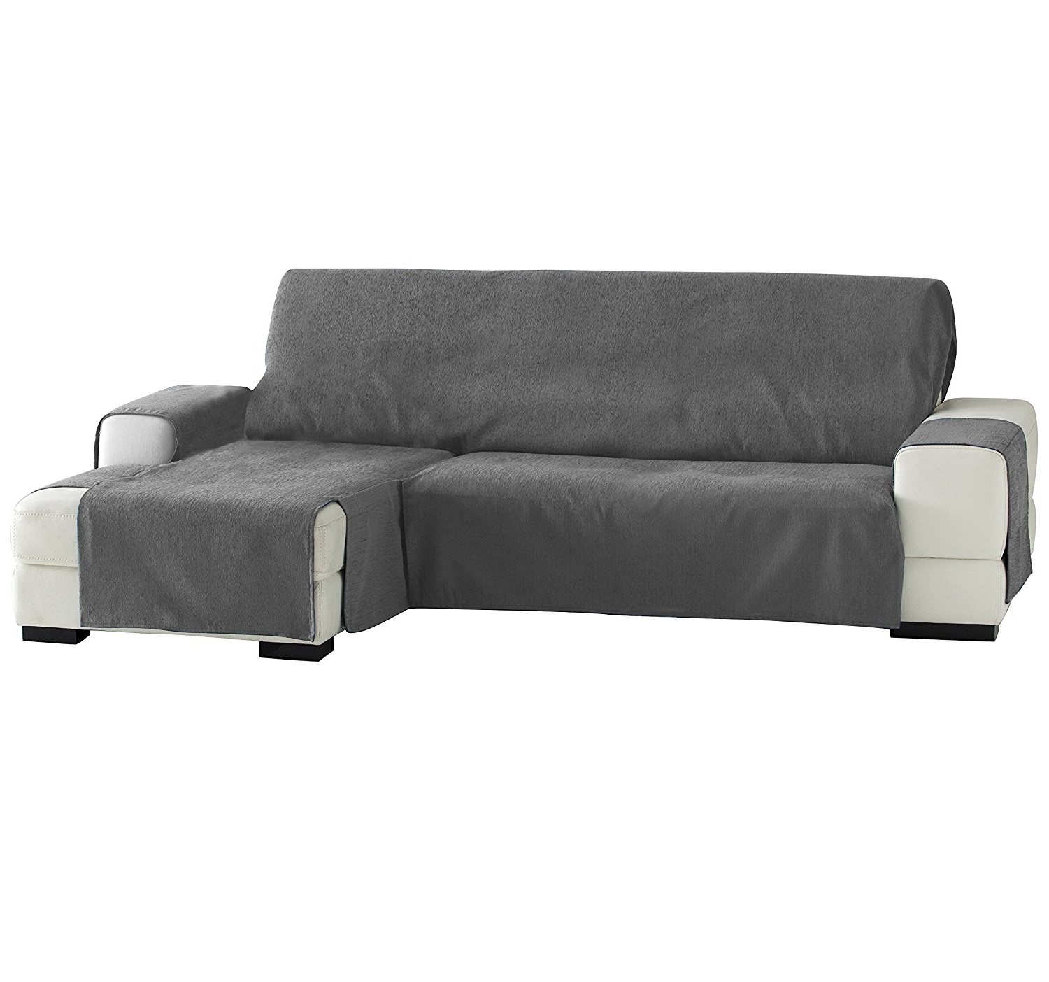 Fundas para sofa cheslong cool stunning funda sof chaise - Funda para cheslong ...