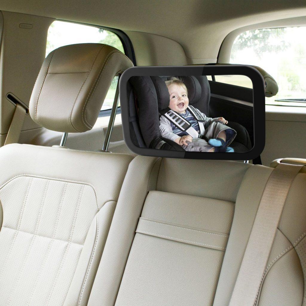 Los mejores espejos retrovisores para silla de bebe for Espejo retrovisor coche bebe