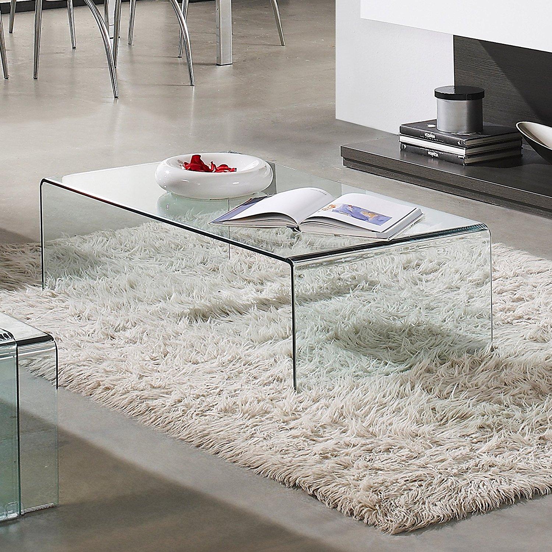 Las mejores mesas de centro de cristal comparativa del for Mesas para comedores pequea os