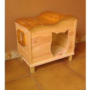 La mejor casa para gato comparativa gu a de compra del - Casas para gatos de madera ...