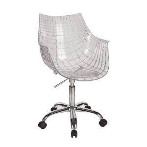 dentro de las sillas transparentes que encontramos en el mercado tambin hay productos perfectos para equipar tu oficina es justo lo que encontramos en la - Sillas Transparentes Baratas