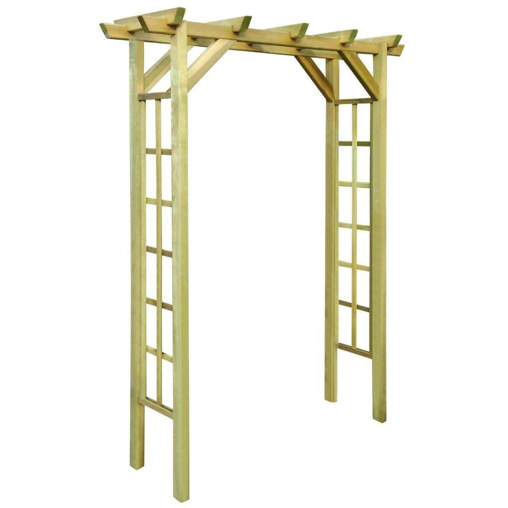 Arco de madera para jard n gu a de compra y an lisis del abril 2018 Arcos de madera para jardin
