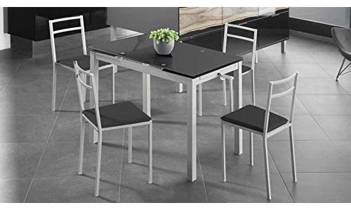 ▷ Las mejores mesas de comedor de cristal extensibles   Comparativa ...