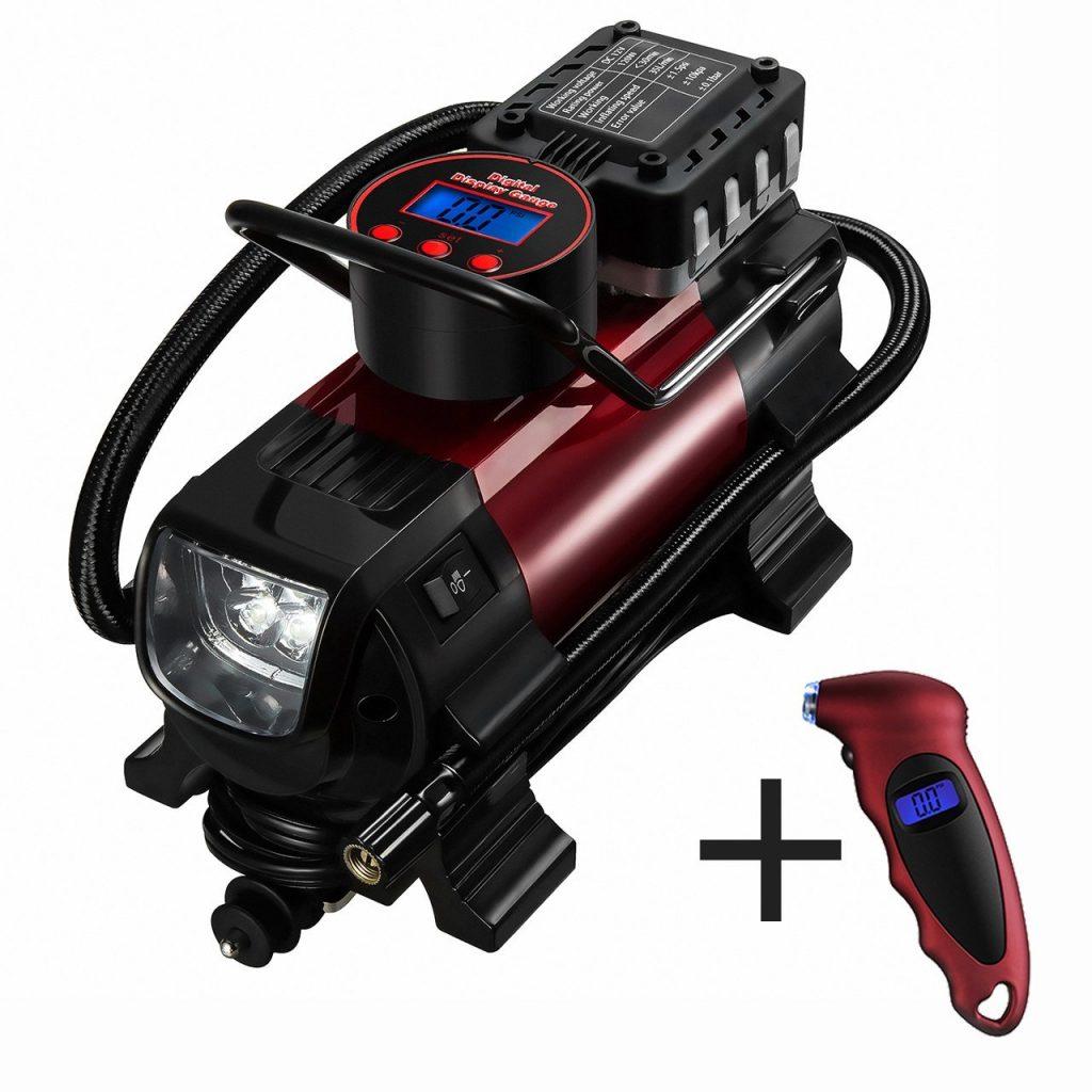 1 compresor de aire de neum ticos met lico port til de - Compresor de aire baratos ...
