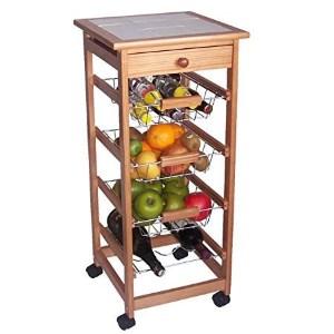 Los mejores carritos de cocina con ruedas comparativa for Carritos con ruedas para cocina