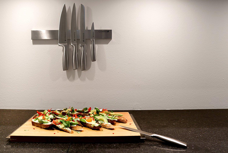 Barra magn tica para cuchillos de 40 cm gu a de compra y - Barra iman para cuchillos ...