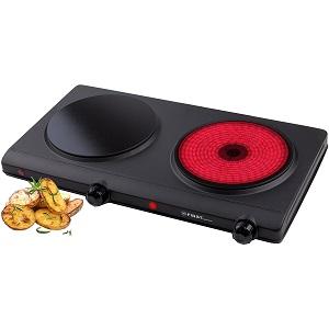 Las mejores placas de inducci n port tiles dobles for Placas de cocina mixtas