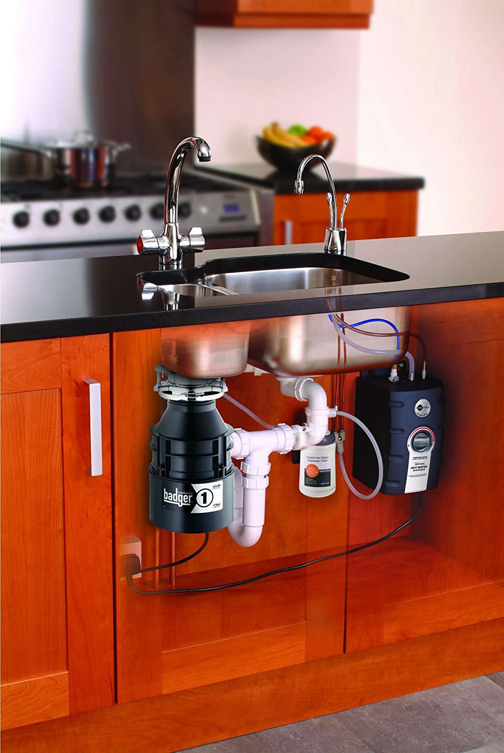 Boiling Hot Single Kitchen Tap And Pump