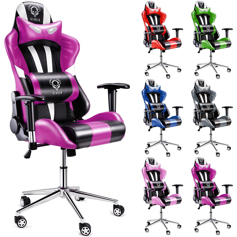Las mejores sillas de escritorio rosas comparativa del - Mejor silla de oficina ...
