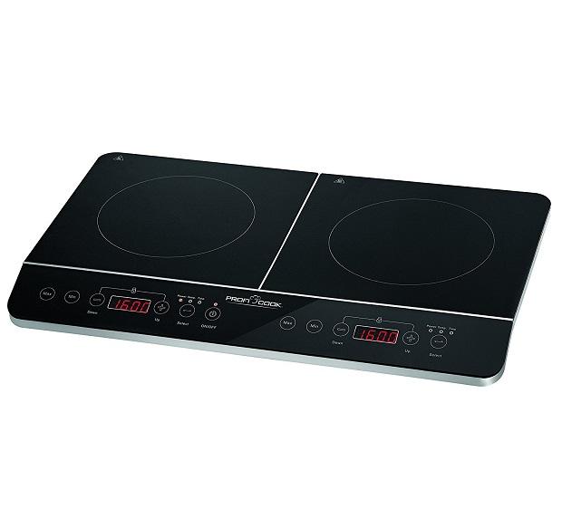 Las mejores placas de inducci n port tiles dobles for Cocina electrica portatil